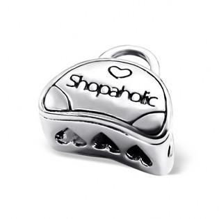 Sterling Silver Shopaholic Bag Bead