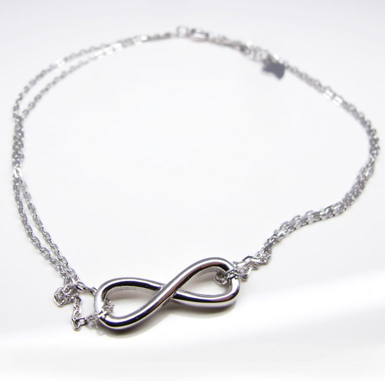 Sterling Silver Plain Anklet