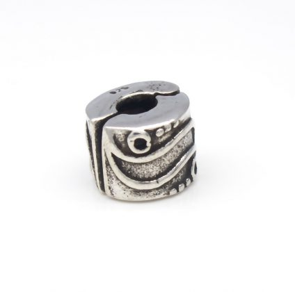 Sterling Silver Stopper bead